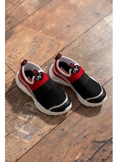 Tonny Black Siyah Kırmızı Çocuk Spor Ayakkabı  Tb027  Tb027-3_316 Siyah